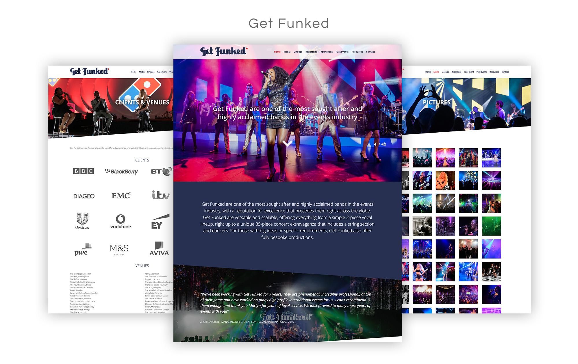 Get Funked Website