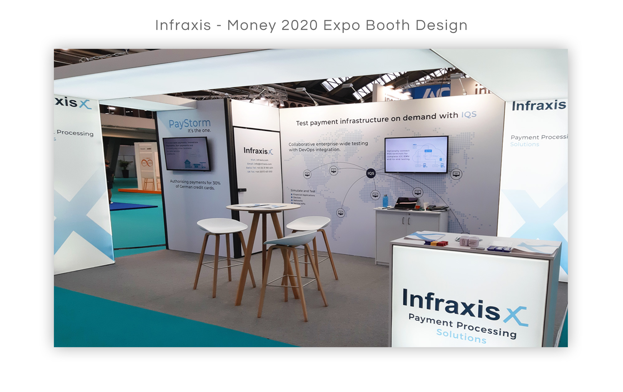 Infraxis Booth Design