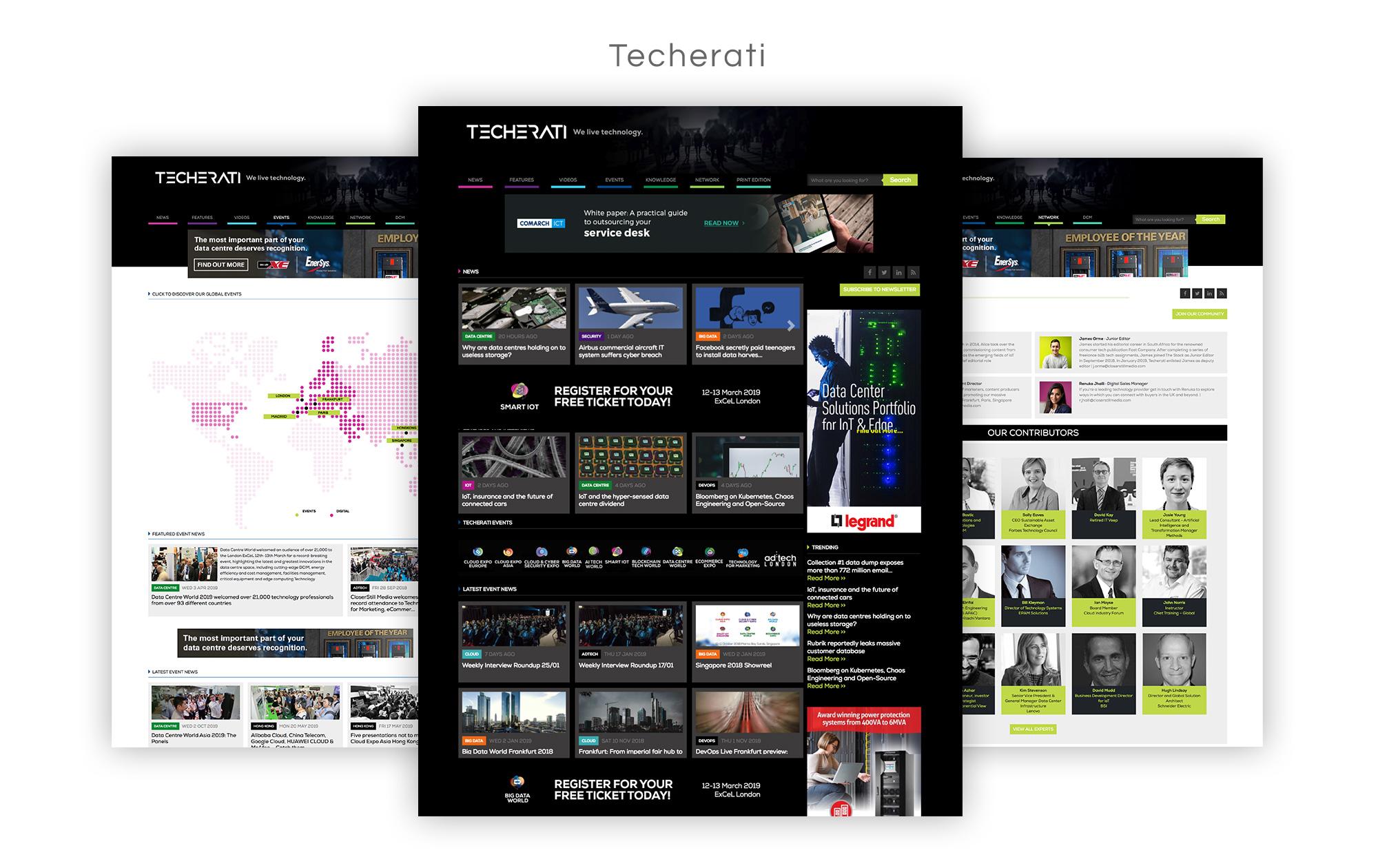 Techerati Website